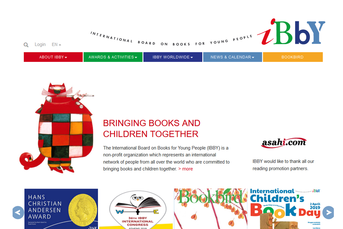 New Link - International Board on Books for Young People
